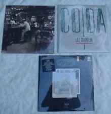 Led Zeppelin Vintage Lp Vinyl Album Coda Song Remains Through Outdoor Sealed 3
