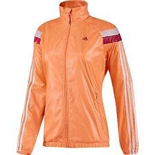 Adidas Anthem Windbreaker jacket Glow Orange [D87871] size large