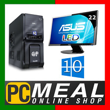 "Intel Core i5 7500 3.4GHz DESKTOP COMPUTER 1TB 8GB 22"" LED Win 10 HDMI GAMING PC"