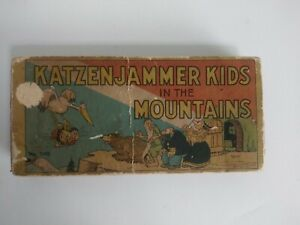 KATZENJAMMER KIDS In The MOUNTAINS Comic Cartoon H/B Booklet Knerr 1934 #1055