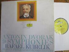 2561 263-271 Dvorak 9 Symphonies / Kubelik / BPO 9 LP box set