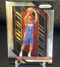 2018-19  Panini Prizm Basketball Shai Gilgeous-Alexander RC Rookie Base Clippers