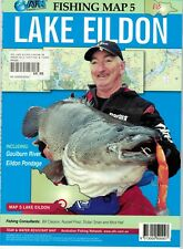 AFN Lake Eildon Fishing Map No. 5 With Detailed Info on Where to Catch Fish