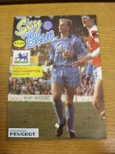 03/04/1993 Coventry City v Southampton  . Thanks for viewing this item, buy with