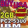 2GB IBM Lenovo R61i T60 T60p T61 T61p X60 MEMORY RAM