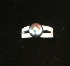 Ring Hematite Pearl Parklane Size 7 NWOT