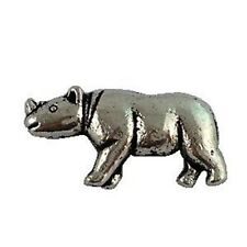 30Pcs Tibetan Silver Rhinoceros Spacer Beads A16431