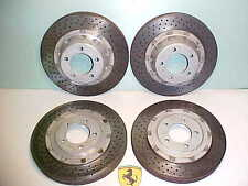 Ferrari F40 Brake Rotors_Front_Rear_Set of 4_70000602_ 70000603_OEM