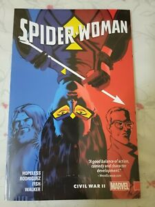 Spider-Woman Shifting Gears Volume 2: Civil War II Softcover Graphic Novel