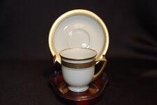 Heinrich & Co Selb Bavaria Bone China Demi Tea Cup & Saucer Set EC