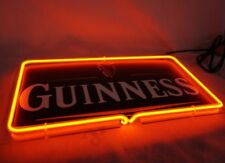 "Brand New Guinness Beer 3D Real Neon Light Sign 12""x7"" [High Quality]"