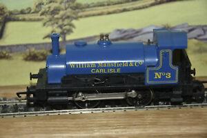 William Mansfield & Co Carlisle. No.3 0-4-0. R.672 Industrial Freight Train Set.
