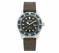 KHNP AKUS0103G  Kahuna Gents Leather Strap Watch farthers day gift