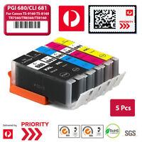5X Ink PGI-680XXL CLI-681XXL for Canon TR-7560 TR-8560 TS-6160 TS-8160 TS-9160