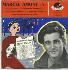 MARCEL AMONT Sa casquette EP POLYDOR 1957