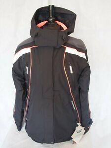 Ice Peak Ladies 55381 Ski Jacket - Black / White
