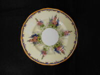 """Vintage Alfred Meakin Hollyhock China 6"""" Butter Plate"""