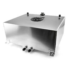 20 Gallon / 80 Litre Aluminum Fuel Cell w/Tube Type Level Sender - Silver