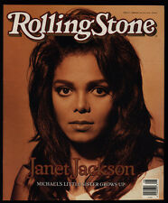 1990 Vintage Rolling Stone Magazine *Cover Only* - Janet Jackson