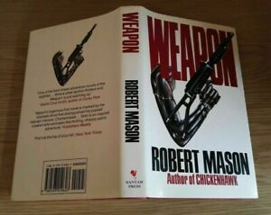 WEAPON By Robert Mason - first edition Hardcover *Excellent Condition*