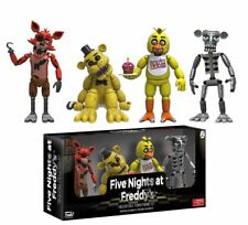 Five Nights at Freddy's 5cm Action Figure Set 1 - Gold - FREE FAST SHIPPING