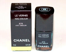 Chanel  Vert Obscur 679 Nail Polish Lacquer Darkened Green Brand New In Box
