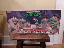 New ListingNeca Tmnt Turtles In Disguise Figure 4 Pack Set Target Exclusive In Hand Rare