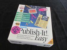 Rare Vintage Apple Macintosh Software. Publish It. Boxed