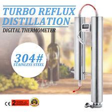 Stainless Steel Condenser Distillation System Turbo Reflux Clamp 3-4kg/H PRO
