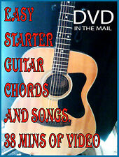 Beginner Guitar Video Lessons - 4 Video Downloads!!  Guitar Chords & Scales