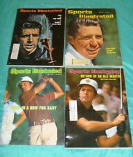 Gary Player Sports Illustrated - Lot of 4  - 1961-1978 - PGA Golf
