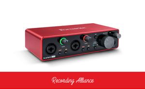 GENUINE Focusrite Scarlett 2i2 (3rd Gen) USB Audio Interface with Pro Tools