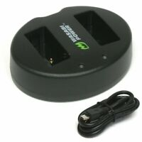 Wasabi Power Dual USB Battery Charger for Canon LP-E17, LC-E17