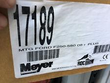 17189 MEYER SNOW PLOW MOUNTING KIT 2008+ FORD F250 - F550 Meyer 17189 Plow Mount
