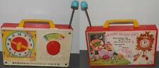 JUGUETE ANTIGUO FISHER PRICE TOYS-MUSICAL MOVEMENT MADE IN JAPAN