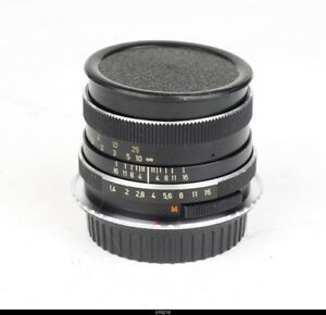 Lens Zeiss West Germany  Planar 1.4/50mm  HFT for Canon Eos