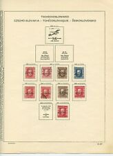 CZECHOSLOVAKIA 1920 - 1927 Stamps Collection