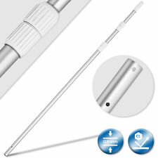 tillvex® Pool Teleskopstange Aluminium Poolstange Alu Reinigung Schwimmbecken