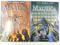 Magika # 1 + 2 komplett ( Kult Hardcover ) Neuwertig