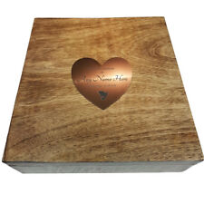 Urn For Human Ashes Box Square Human Ashes Cremation Casket Plaque 25 X 25cm