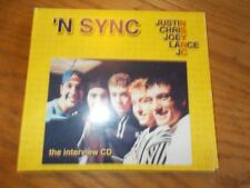 'N SYNC THE INTERVIEW CD