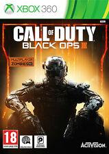 Call of duty black ops 3 (iii) xbox 360 * en excellent état *
