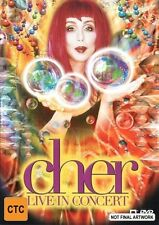 Cher - Live In Concert (DVD, 1999)
