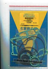 Top End Gasket Set Yamaha YZ250 YZ 250 1986-1987 Mitaka