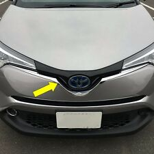For Toyota C-HR 2017 2018 ABS Chrome Front Grill Grille Cover Trim