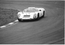 JO SIFFERT BRUCE McLAREN PORSCHE 910 BOAC 500 1967 ORIGINAL PERIOD PHOTOGRAPH