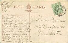 Pauline Kerman. 142 Bury New Road, Manchester. 1906.   AG.643