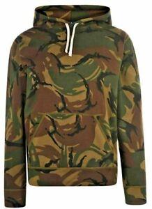 Polo Ralph Lauren Camo Mens Jumper Hoody Sweater AZ1 HOODIE XL Genuine