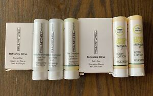 PAUL MITCHELL Hotel Travel Size Toiletries Shamp/Cond Lotions & Bar Soap 7pc