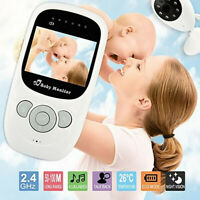 2.4'' 2.4G Wireless Baby Monitor Camera Digital Audio Night Vision Video